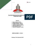 Plan de Negocio de Consultoria y Constructora