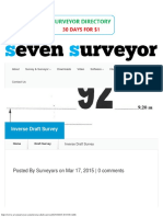 7Surveyor Inverse Draft Survey Marine Surveyor Information