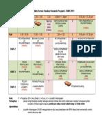 Jadual Waktu Kursus Pasukan Pemandu Nov.doc