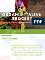 Organic Italian Food - List of Top Food Products