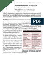 Instrumentation and Monitoring of Underground Works