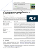 A potential new process for improving nitrogen removal in constructed wetlands - Promoting coexistence of partial-nitrification and ANAMMOX