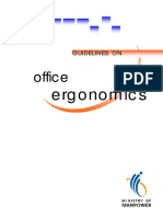 Guidelines on Office Ergonomics