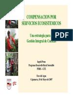 Compensacion Por Servicios Ecosistemicos