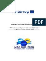 Guia Presentacion Proyectos INTERREG MAC ES (1)