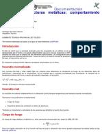 Estructuras Metálicas Comportamiento Frente Al Fuego
