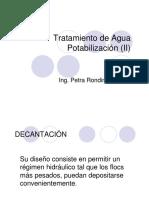 Tratamiento de Agua Potabilizac II
