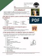 #8 Vapores de Soldadura