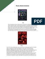Music Advert Analysis