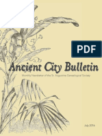 Ancient City Bulletin - July 2016