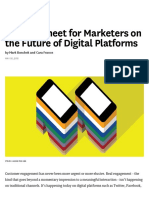 A Cheat Sheet for Marketers on the Future of Digital Platforms