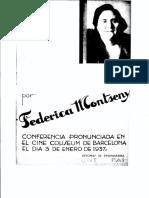 Montseny, Federica - El Anarquismo Militante y La Realidad Española