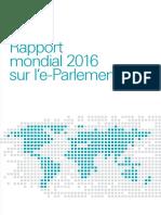 Rapport mondial 2016 sur l'e-Parlement