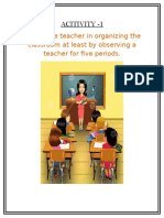 Classroom Organisation and Management