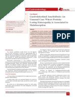 Gastrointestinal Amyloidosis