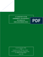 An Assessment of the Admissibility and Sufficiency of Evidence in Child Abuse Cases 1999
