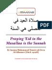 Praying Eid in Musallah