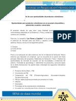 Evidencia 4 Estudio de Caso Oportunidades de Productos Colombianos