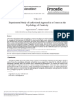 Experimental Study of Audiovisual Approach in a Course on The