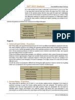 XAT 2013 Analysis
