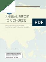 2016 China Military Power Report