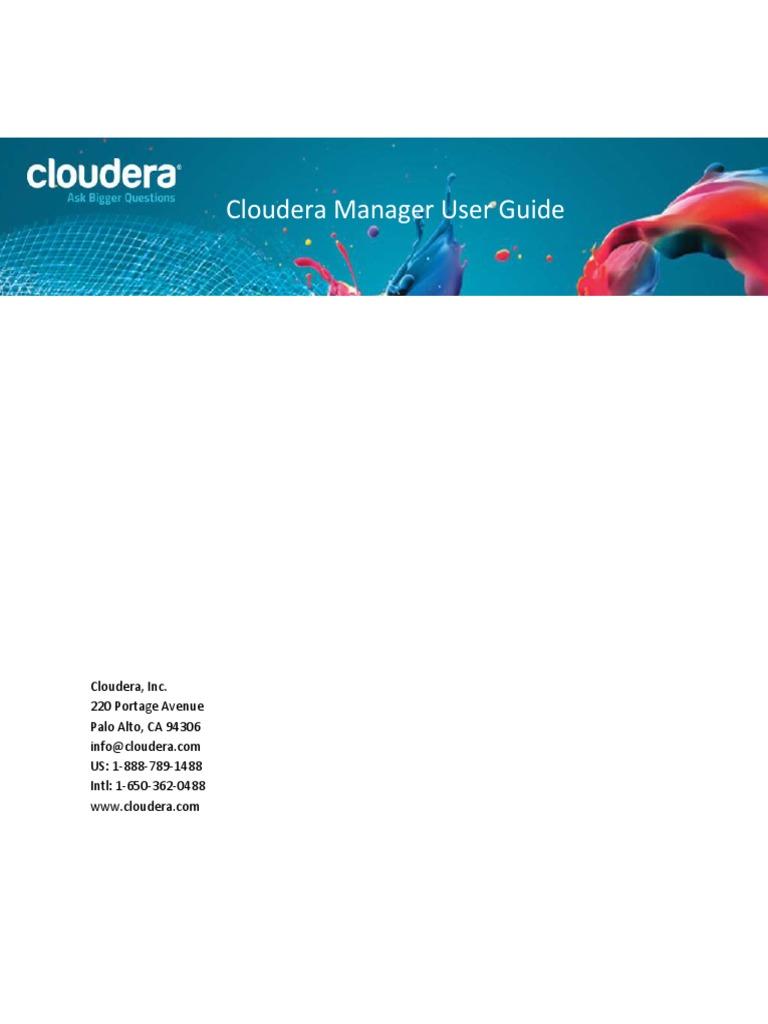 CM 4 5 Enterprise Help Guide | Apache Hadoop | Trademark