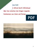 Nagarjuna und Alfred North Whitehead. Denkweisen aus Asien und Europa