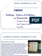 Sistemas de Embalaje y Sus Componentes