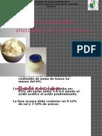 Microorganismos alteradores de la mayonesa