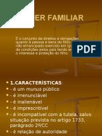 Direito de Família - Poder Familiar