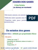 1 - Lei Zero Da Termodinâmica - Gases