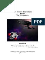 USS Venture Sourcebook 1 the USS Venture