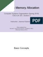 Lecture08 Memory Allocation