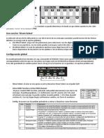 Resumen de uso Behringer FCB1010