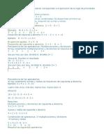 Las Actividades Que Deben Realizar Corresponden a La Aplicación de La Regla de Prioridades Matemáticas