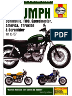 2005 triumph bonneville service manual