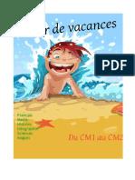 Cahier de Vacances - CM1 Au CM2