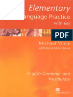 Elementary Language Practice M. Vince