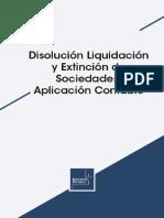 Disolución Liquidación y Extinción de Sociedades Aplicación Contable