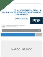 Presentación PMGM Contrataciones a Honorarios en Municipalidades