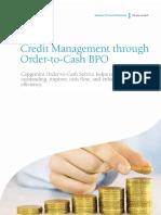 Credit Management Through Order-To-Cash BPO