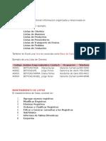 07 Lista o Base de Datos (Clase)