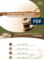 Business Medicine Powerpoint Templates
