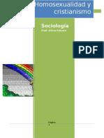 Monografía Homosexualidad y Cristianismo- Final