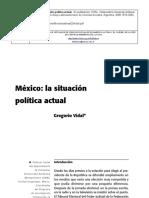Vidal Situacion Politica