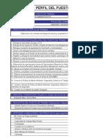 Asistente Administrativo - Perfil de Puesto 2 Para Convoc