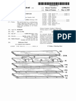 """U.S. Patent 5,900,572, entitled """"Pliable Pickup for Stringed Instrument"""", to Dean Markley, issued May 4, 1999."""