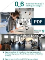 Lab 0_6_un Espai de Ciencia Per a Infants Que Investiguen