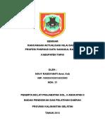 Rancangan Aktualisasi Novy Rasdiyanti Review II