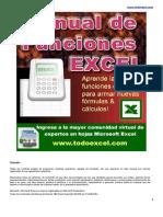 Manual de Funciones Excel PDF